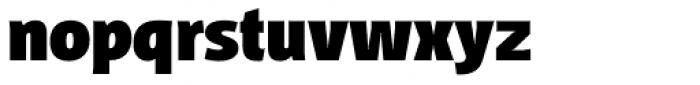 Distefano Sans Black Font LOWERCASE