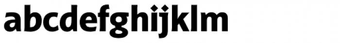 Distefano Sans Bold Font LOWERCASE