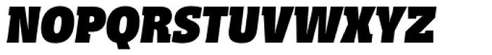 Distefano Slab Black Italic Font UPPERCASE