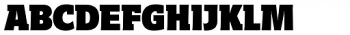Distefano Slab Black Font UPPERCASE