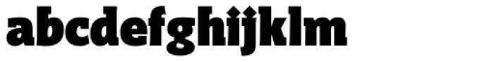 Distefano Slab Black Font LOWERCASE