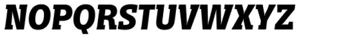 Distefano Slab Bold Italic Font UPPERCASE