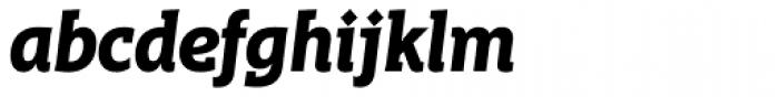 Distefano Slab Bold Italic Font LOWERCASE