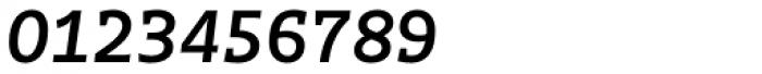Distefano Slab Italic Font OTHER CHARS