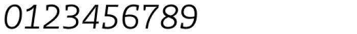 Distefano Slab Light Italic Font OTHER CHARS