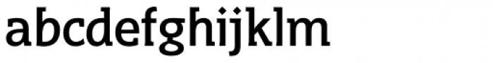 Distefano Slab Font LOWERCASE