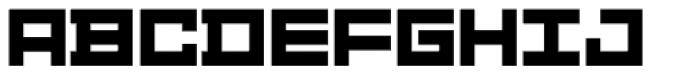 Distill Bold Font UPPERCASE