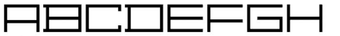 Distill Expanded Light Font UPPERCASE