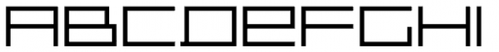 Distill Expanded Light Font LOWERCASE