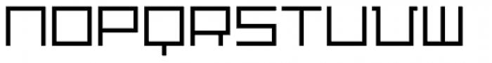 Distill Light Font UPPERCASE