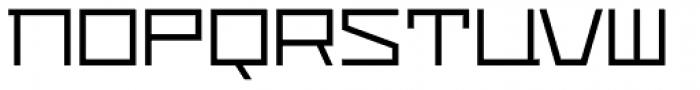Distill Light Font LOWERCASE