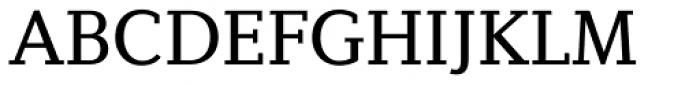 Diverda Serif Regular Font UPPERCASE