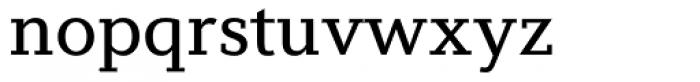 Diverda Serif Regular Font LOWERCASE