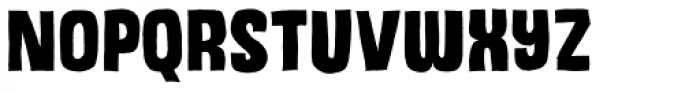 Dizzy Edge Font LOWERCASE