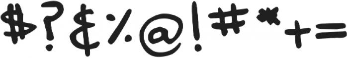 DJB Annalise the Bold ttf (700) Font OTHER CHARS