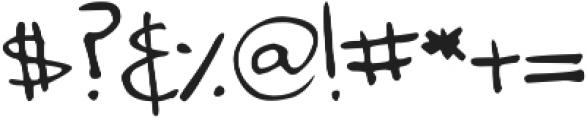 DJB Annalise the Brave ttf (400) Font OTHER CHARS