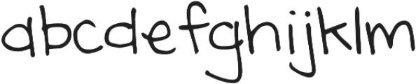 DJB Annalise the Brave ttf (400) Font LOWERCASE