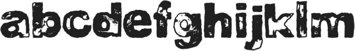 DJB BAD STAMP JOB 1 ttf (400) Font UPPERCASE