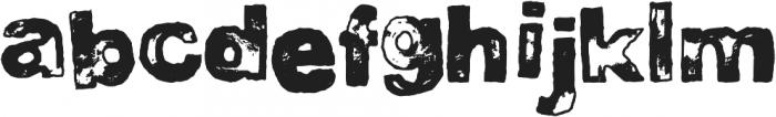 DJB BAD STAMP JOB 2 ttf (400) Font LOWERCASE