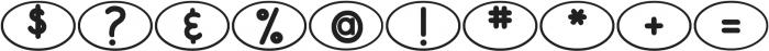 DJB Bailey ttf (400) Font OTHER CHARS