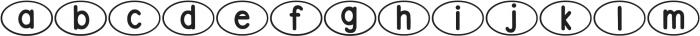 DJB Bailey ttf (400) Font LOWERCASE