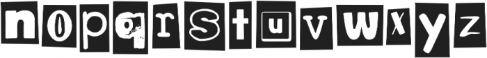 DJB Bean Pole ttf (400) Font LOWERCASE