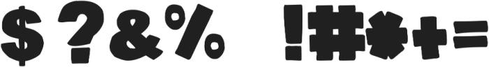 DJB BellyButton-Innie ttf (400) Font OTHER CHARS