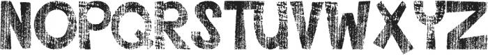 DJB CLyleRun ttf (400) Font UPPERCASE