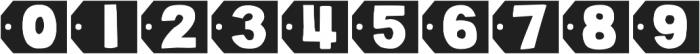 DJB Cutouts-Flowers ttf (400) Font OTHER CHARS