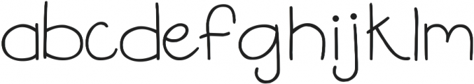 DJB Flower Power 2 ttf (400) Font LOWERCASE