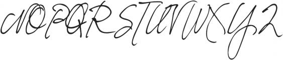 DJB Fresh Start ttf (400) Font UPPERCASE