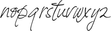 DJB Fresh Start ttf (400) Font LOWERCASE