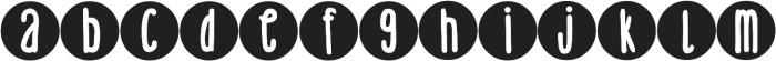 DJB Holly Typed 2 Much ttf (400) Font LOWERCASE