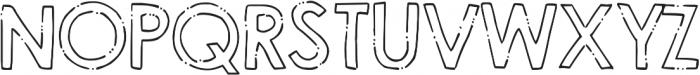 DJB Holly Typed ttf (400) Font UPPERCASE