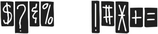 DJB It's Full of Dots ttf (400) Font OTHER CHARS