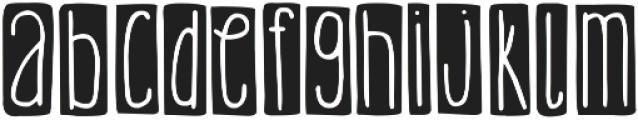 DJB It's Full of Dots ttf (400) Font LOWERCASE