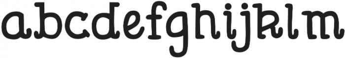DJB Lemon Head ttf (400) Font LOWERCASE