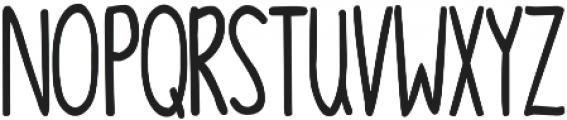 DJB Linus' Pumpkin 2 ttf (400) Font UPPERCASE