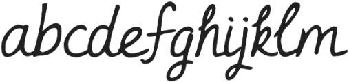 DJB Linus' Pumpkin ttf (400) Font LOWERCASE