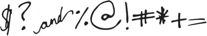 DJB Monogram ttf (400) Font OTHER CHARS
