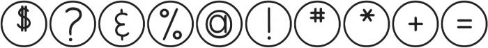 DJB My Mood Ring Says Blah ttf (400) Font OTHER CHARS