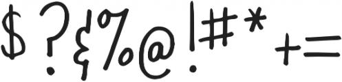 DJB Oh Suzannah ttf (400) Font OTHER CHARS