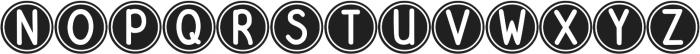 DJB Pokey Dots ttf (400) Font UPPERCASE