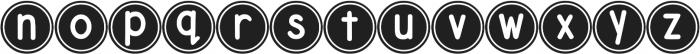 DJB Pokey Dots ttf (400) Font LOWERCASE