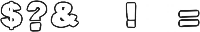 DJB Poppyseed ttf (400) Font OTHER CHARS