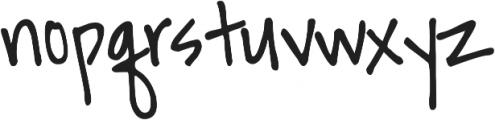 DJB Ransom Note Clipped ttf (400) Font LOWERCASE