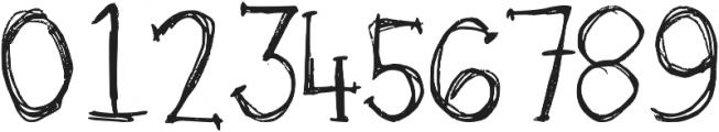 DJB Skritch Skratch ttf (400) Font OTHER CHARS