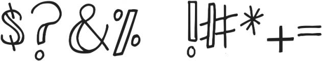 DJB Smarty Pants ttf (400) Font OTHER CHARS