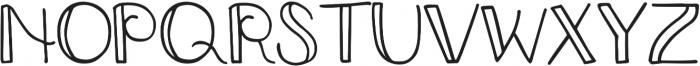 DJB Smarty Pants ttf (400) Font UPPERCASE