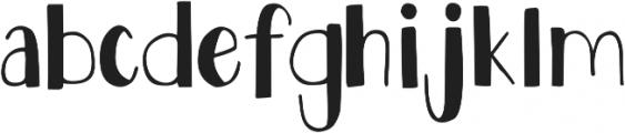 DJB Speak Softly ttf (400) Font LOWERCASE